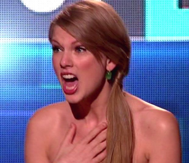 Taylor Swift suprised faces | Taylor Swift's Perfect Man