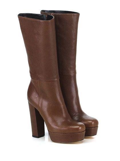 Giampaolo Viozzi - Stivali - Donna - Stivale in pelle con zip su lato interno e…