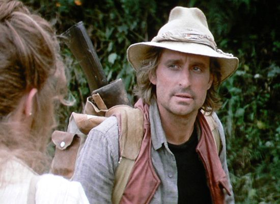 "Michael Douglas as ""Jack T. Colton"" in Romancing the Stone (Blu-ray.com)"