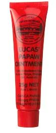 I picked up this well known in Australian balm for my lips and dry spots - Lucas #Papaw Ointment