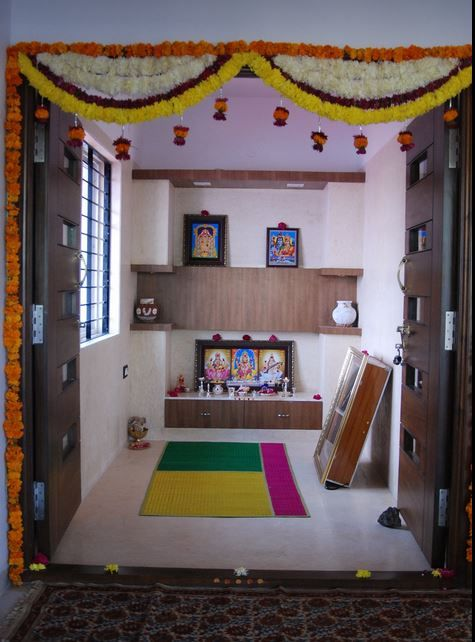 114 Best Images About Pooja Room On Pinterest