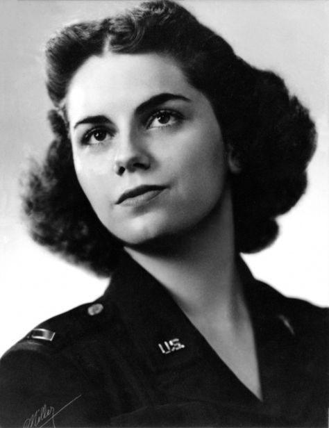 On 24 Sept. 1944, 1st Lt. Mary Louise Hawkins was evacuating 24 patients from the fighting at Palau to Guadalcanal when the C-47 made a forced landing. During the landing, a propeller tore through the fuselage and severed the trachea of one patient. She made a suction tube from various items including the inflation tube from a Mae West. With this, she kept the man's throat clear of blood for 19 hours. All of her patients survived. For her actions, she received the Distinguished Flying Cross.