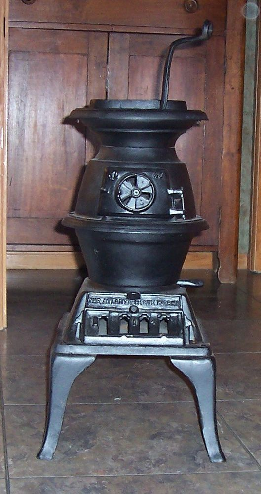 The Atlanta Stove Works No40 Cast Iron Pot Belly