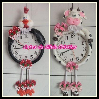 Relojes decorados