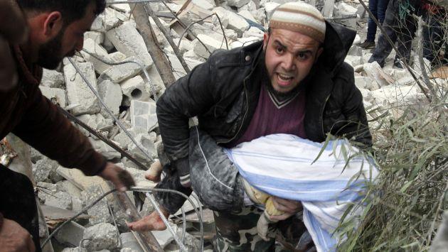 #GuerraCivil en Siria ocasionó más de 100,000 muertos. #Peru21 #Conflicto