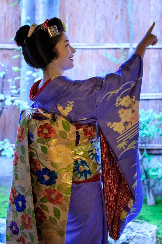 Maiko Satsuki. That obi! That OBI! <3