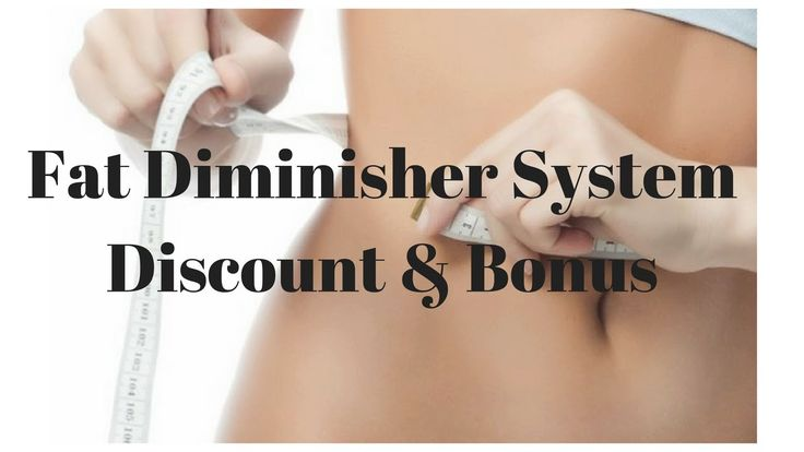 Weight loss tips - The Fat Diminisher System Discount & Bonus