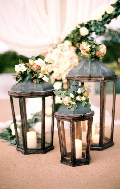 496 best tuscan italian wedding theme images on pinterest for Wedding ceremony table decorations