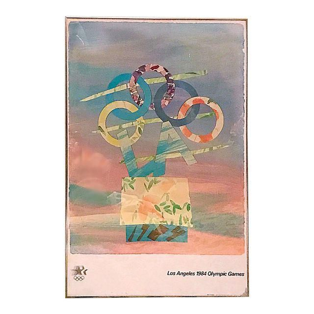 Image of Los Angeles 1984 Olympic Games Poster