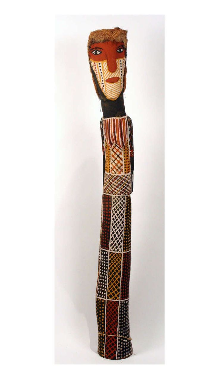 Ironwood Woman Ancestor statue Australian Aboriginal For Sale at 1stdibs