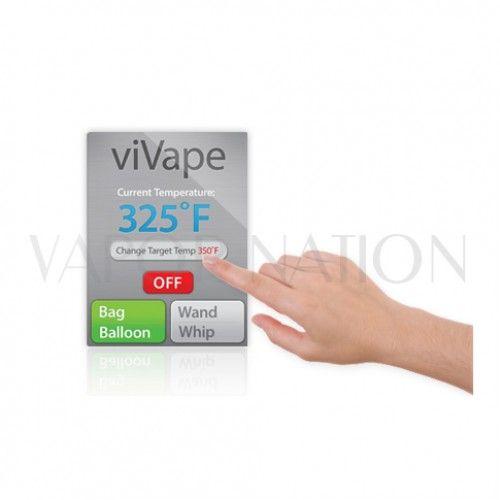 vaporfection vivape desktop vaporizer touchscreen