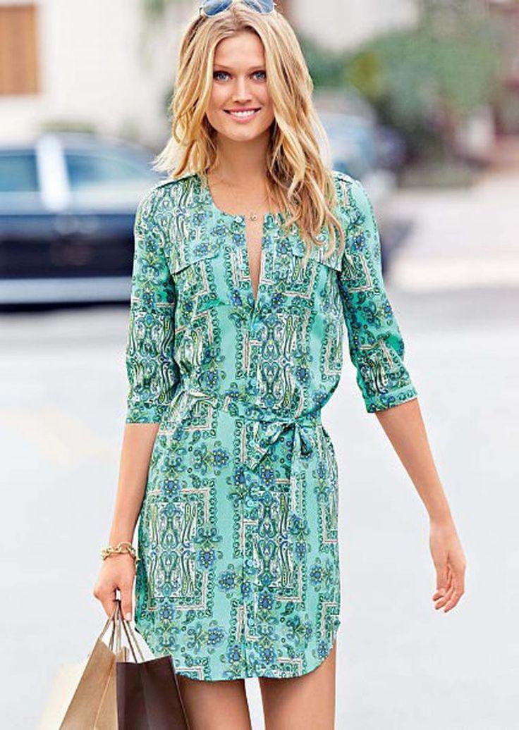 Платье-рубашка — тренд на все времена! - Ярмарка Мастеров - ручная работа, handmade