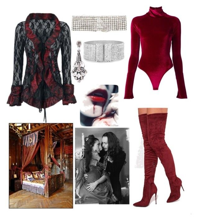 """""""Vampire Castle Date"""" by hellenrose7292 on Polyvore featuring Alix, ERTH and BillyTheTree"""