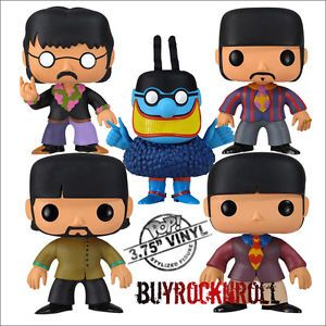 Funko POP Figures List | Details about Funko POP Rocks VINYL 5 Figures Set: Beatles & Blue ...