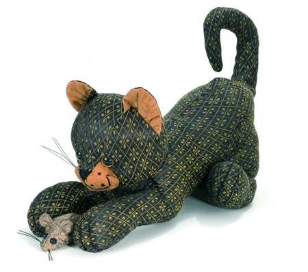The Cat and Mouse Doorstop
