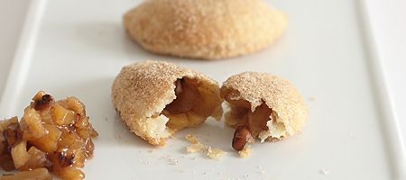 Apple Walnut Empanadas - like mini apple pies... (linked to recipe with step by step pictures)
