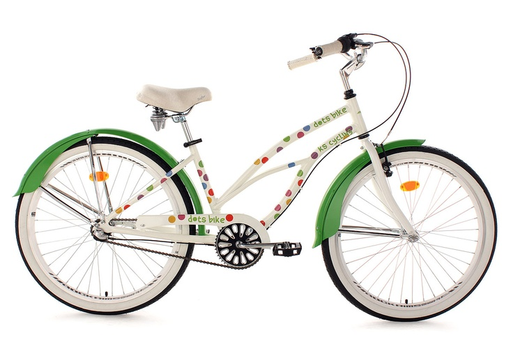 Ks Cycling Beachcruiser Dots Cruising At The Beach Pinterest