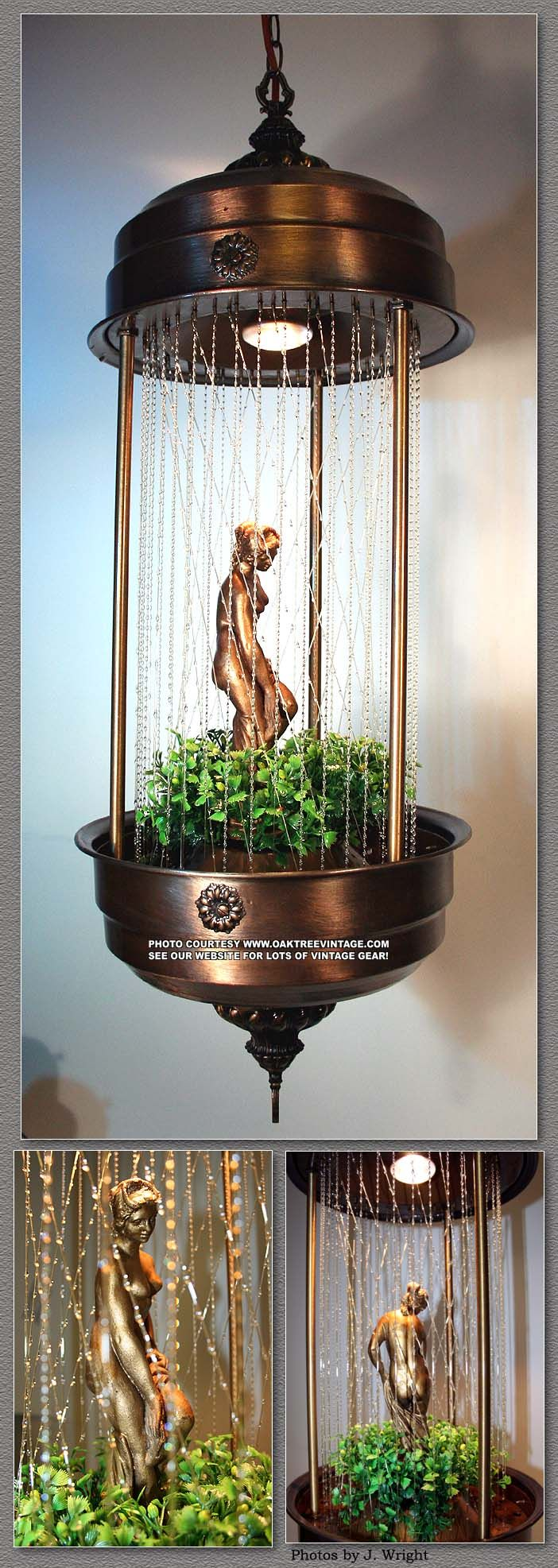 Venus Lady Oil Rain Lamp - my grandparents had one of these when I was little. Thought it was the coolest thing ever.