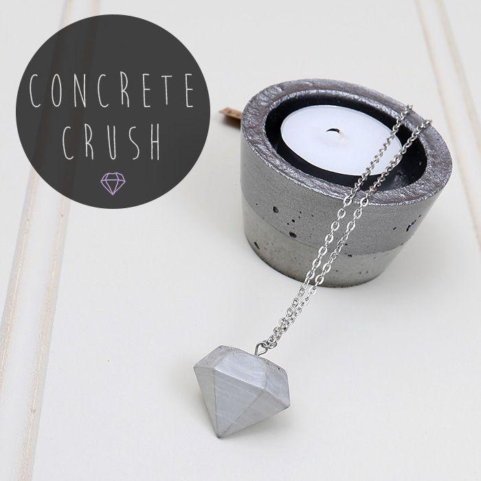 C O N C R E T E | Loving all things concrete at the moment | Shop now at www.daisychainstore.com.au