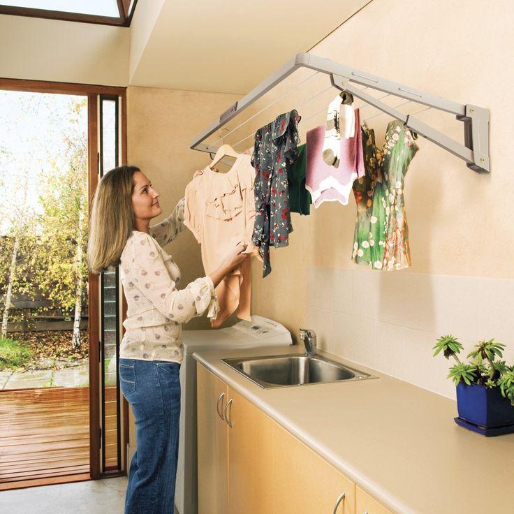 hills folding clothesline instructions
