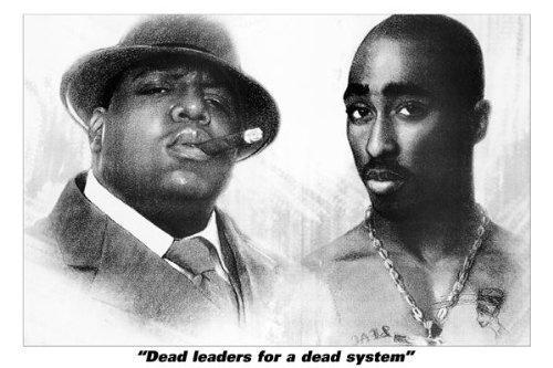 Biggy Tupac Dead Leaders Makaveli 2Pac Biggie Smalls Rapper 24x36 Music Concert Poster Print Rare Limited by Mypostergallery, http://www.amazon.com/dp/B00A3XEV36/ref=cm_sw_r_pi_dp_zlbIrb1TT2FKD