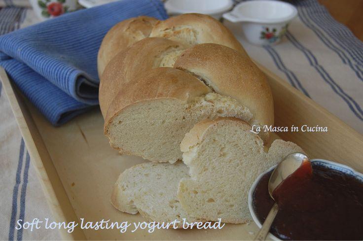 Soft long lasting yogurt bread