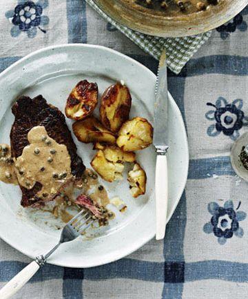 Bill Granger Recipe For Sirloin Steak With Green Peppercorn Cream ...