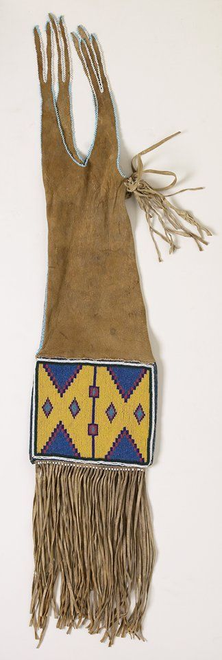 1072 best pipe bags tobacco bags images on pinterest for What crafts did the blackfoot tribe make