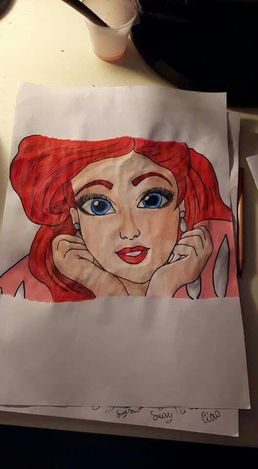 Ariel.  -La sirenetta.