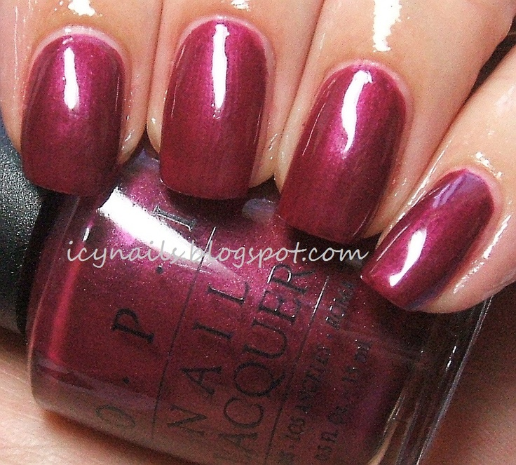Buffalo Billings Berry Discontinued Opi Pinterest