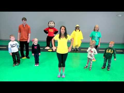 Preschool Curious George Book and Workout Video - YouTube