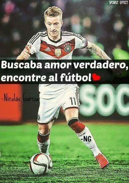 Buscaba Amor Verdadero Encontré Al Fútbol