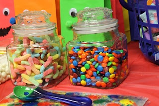 candy buffet party favors