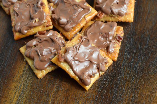 Saltine+Cracker+Toffee+Recipe