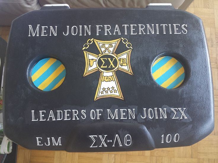 Men Join Fraternities | Leaders of Men Join Sigma Chi (Frat Cooler)