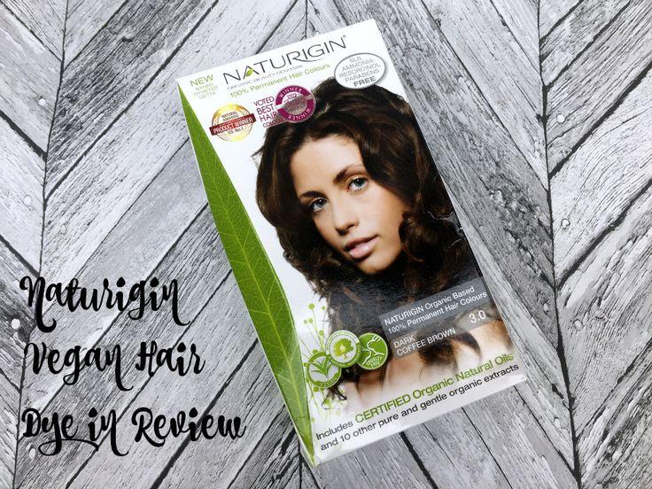 Naturigin Hair Dye  Testing Vegan Hair Colours.