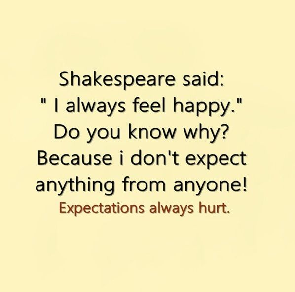 Shakespeare is wise