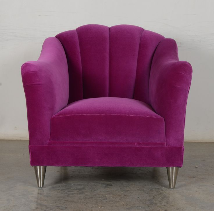 Our Raleigh Chair With Channel Tufted In Back In Como