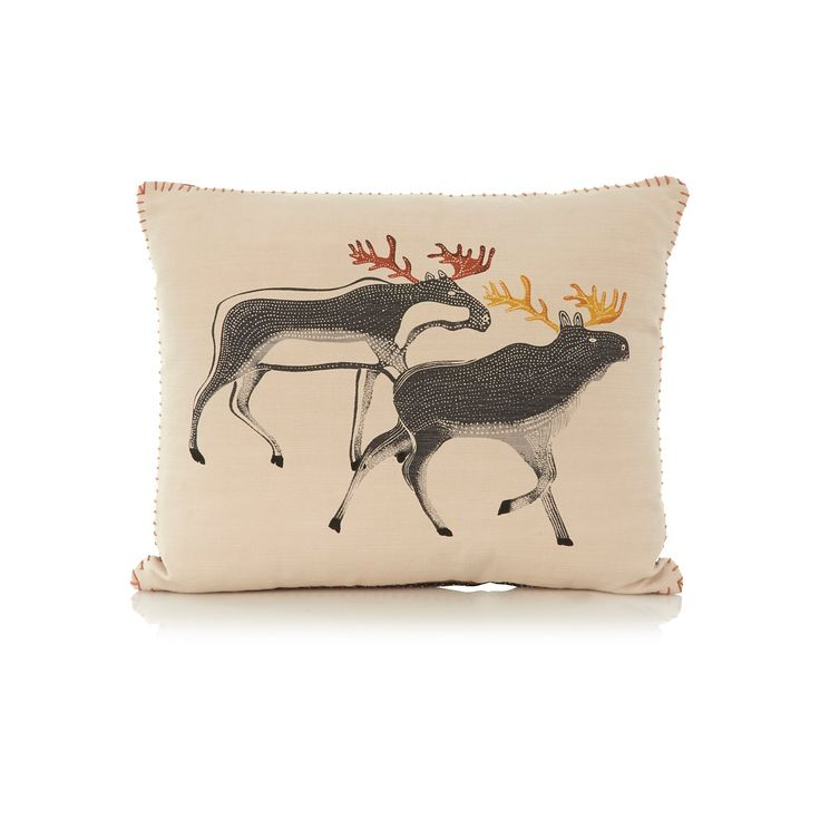 Buy George Home Moose Art Cushion from our Cushions range today from ASDA Direct.