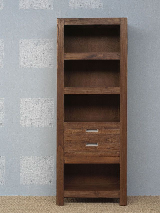 www.livinghome.nl info@livinghome.nl €275,- #kast #opbergkast #boekenkast #hout #bruin #interieur