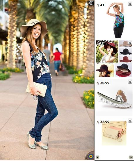 Street Style Flirty - Shop matching products in this pic at http://www.stylediggin.com/mixing-it-up-with-florals-and-sparkles/
