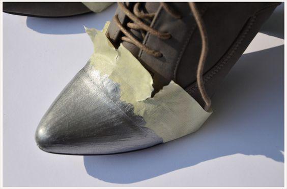 DIY Dienstag: Schuhe lackieren | Schuhe, Lackieren und Dienstag