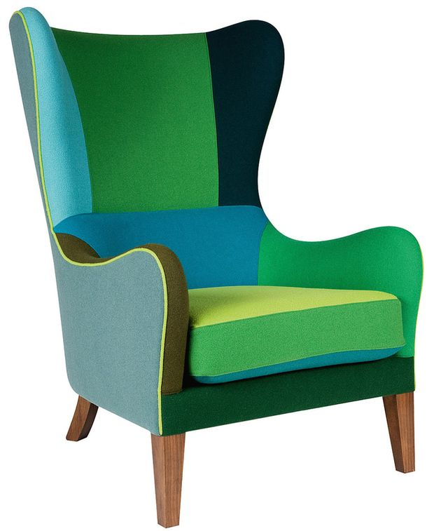 Marie's Corner - Tailor Made Seating - Jackson - Beechwood and scandinavian hardpine frame, glued, screwed and doweled. Beechwood feet. Stretch seat and belts back. Foam seat cushion. Fully upholstered wing chair.