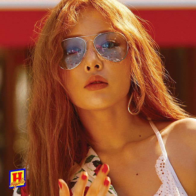 triple h teaser image, hyun a triple h, triple h kpop profile, triple h members, triple h ceci, hyuna ceci 2017, hyuna photoshoot 2017, hyuna sexy photo 2017, cube new unit