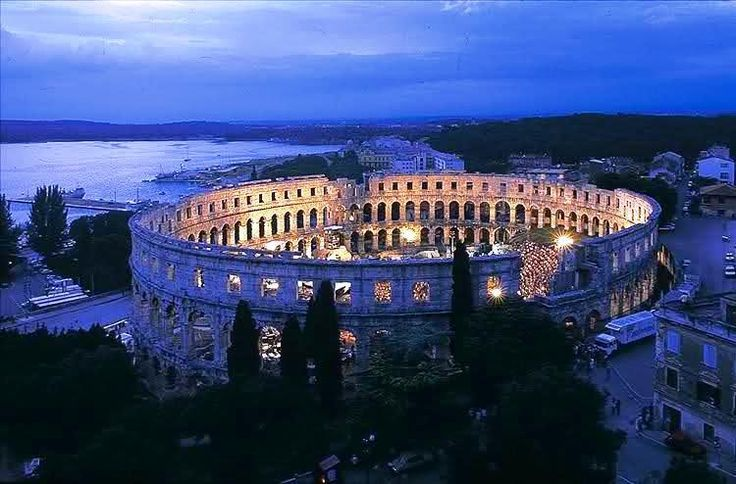 Pula - Best preserved Colosseum