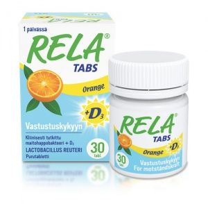 Rela Tabs D3 Orange | Verman - Finland