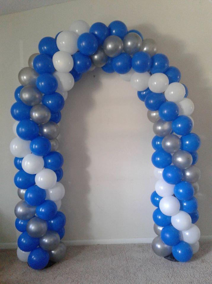 Graduation Arch In 2020 Balloons Graduation Party Decor 15th Birthday Party Ideas