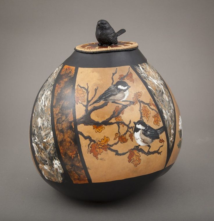 17 Best Images About Gourds/Gourd Art On Pinterest