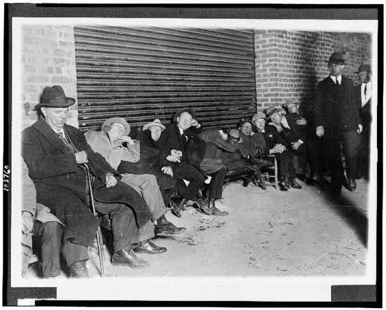 1924: Baseball was the Justin Bieber of the 1920s—at least for these Giants and Senators fans, who got in line the night before Game 1 of the World Series to get tickets.
