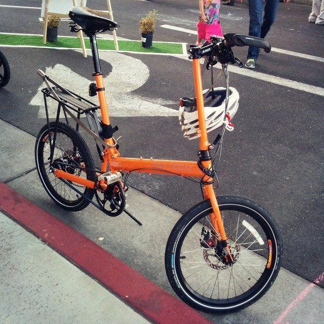 Getting The Right Bike Seat Bike Friday Folding Bike Bike